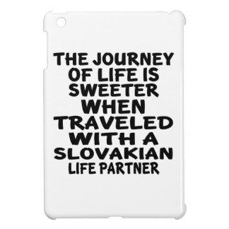 Parcouru avec un associé slovaque de la vie étuis iPad mini