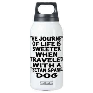 Parcouru avec un associé tibétain de la vie bouteilles isotherme