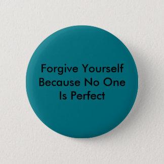 Pardonnez-vous puisque personne est parfait badge
