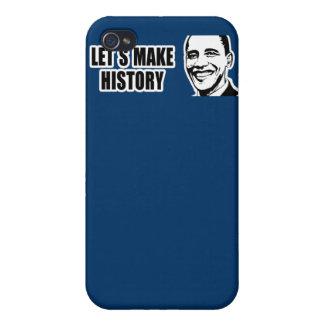 Pare-chocs 5 png d Obama d histoire iPhone 4 Case