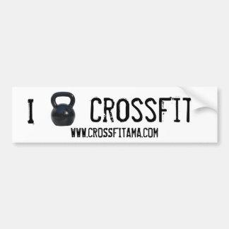 Pare-chocs de CrossFit du kettlebell I Autocollant Pour Voiture