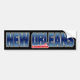 Pare-chocs de la Nouvelle-Orléans Autocollant Pour Voiture