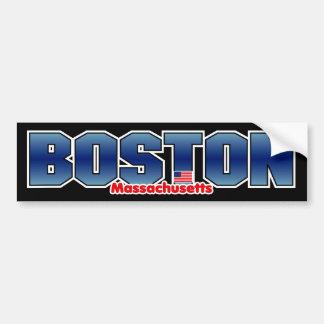 Pare-chocs de masse de Boston Autocollant Pour Voiture