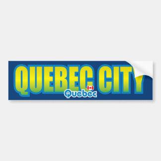 Pare-chocs de Québec Autocollant De Voiture