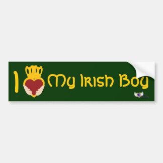 Pare-chocs Sticker-Cust. du jour de St Patrick irl Autocollant Pour Voiture