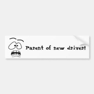 Parent de nouvel adhésif pour pare-chocs de autocollant de voiture