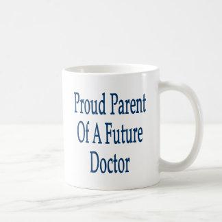 Parent fier d'un futur docteur tasse à café