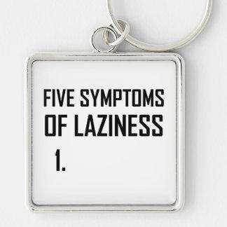 Paresse de cinq symptômes porte-clés