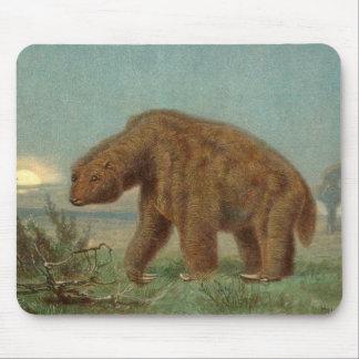 Paresse de géant de Megatherium Tapis De Souris