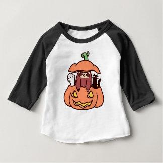 Paresse de lanterne de Jack O T-shirt Pour Bébé
