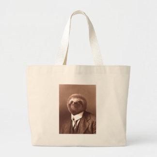Paresse de monsieur grand sac