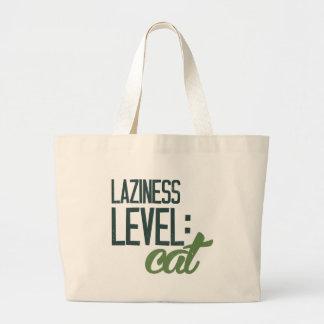 Paresse de niveau : chat sac