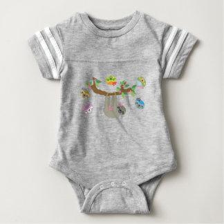 Paresses - combinaison paresseuse de bébé body