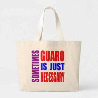 Parfois Guaro est simplement nécessaire Sac En Toile