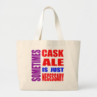 Parfois la bière anglaise de tonneau est sac en toile jumbo