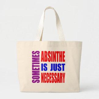 Parfois l'absinthe est simplement nécessaire sac fourre-tout