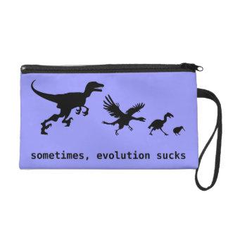 Parfois, l'évolution suce sac à main avec dragonne