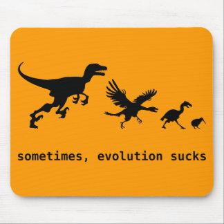 Parfois, l'évolution suce tapis de souris