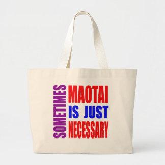 Parfois Maotai est simplement nécessaire Sac En Toile Jumbo
