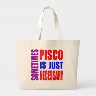 Parfois Pisco est simplement nécessaire Sac En Toile Jumbo