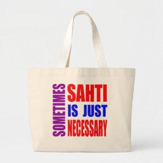 Parfois Sahti est simplement nécessaire Sac En Toile Jumbo