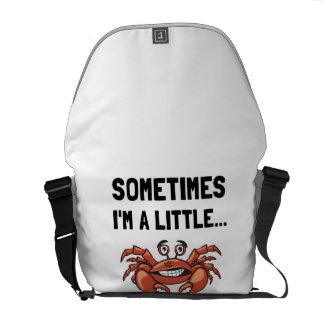 Parfois un crabe besaces