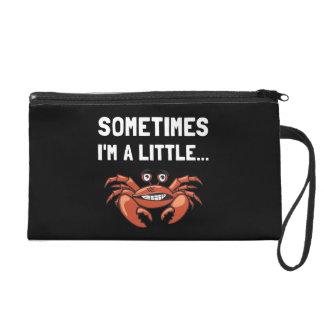 Parfois un crabe sac à main avec dragonne