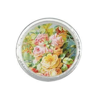 Parfum de l'eau de la Floride avec des roses de Bagues Avec Photo