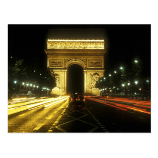 Paris - Arc de Triomphe - Carte Postale