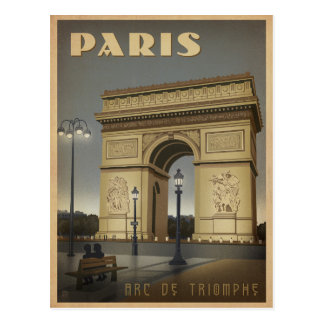 Paris - Arc de Triomphe Carte Postale