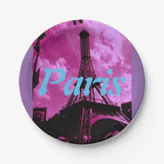 Paris Assiettes En Papier