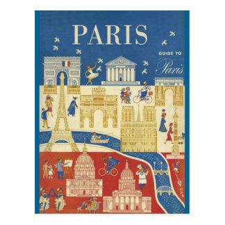 Paris - Carte postale