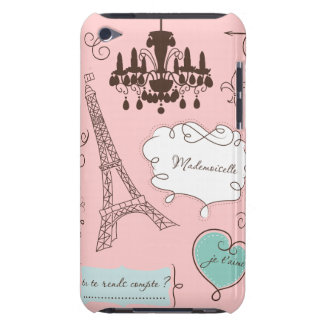 Paris chic coque barely there iPod