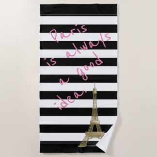 Paris est toujours une bonne serviette de plage