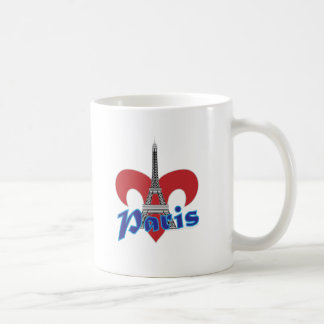 Paris Fleur de Lis Mug À Café