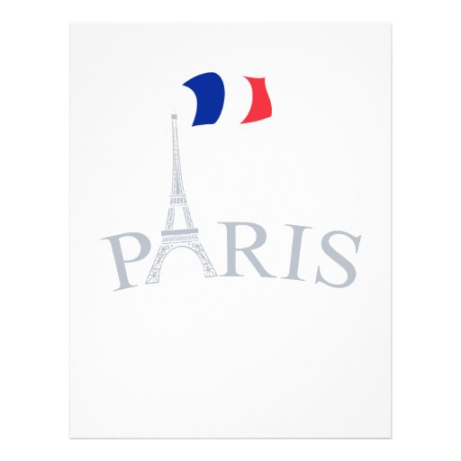 Paris, France Prospectus Customisé