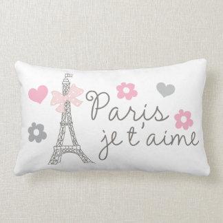 Paris Je T'aime Coussin Décoratif