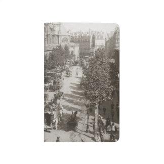 Paris : Les Halles, C1900 Carnet De Poche