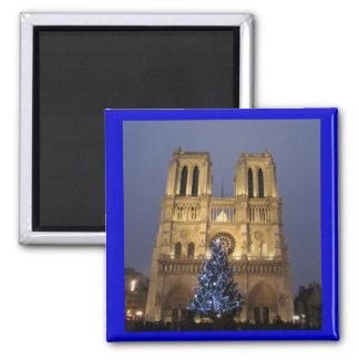 Paris - Notre Dame à Noël Aimants