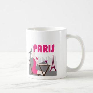 paris, Paris - France Eiffel TowerChamps Elysée... Mug Blanc