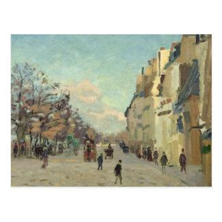 Paris, Quai de Bercy, effet de neige, c.1873-74 Cartes Postales