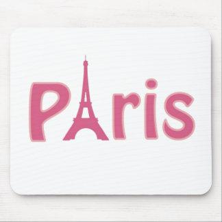 Paris rose tapis de souris