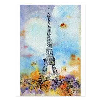 Paris. Tour d'Eiffel Cartes Postales