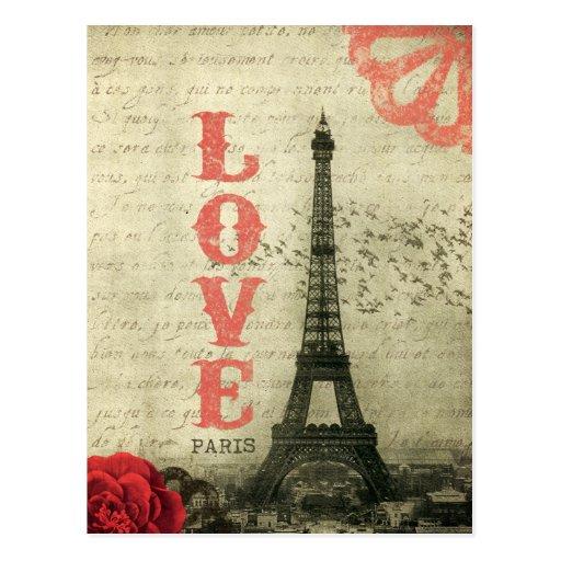 Paris vintage cartes postales