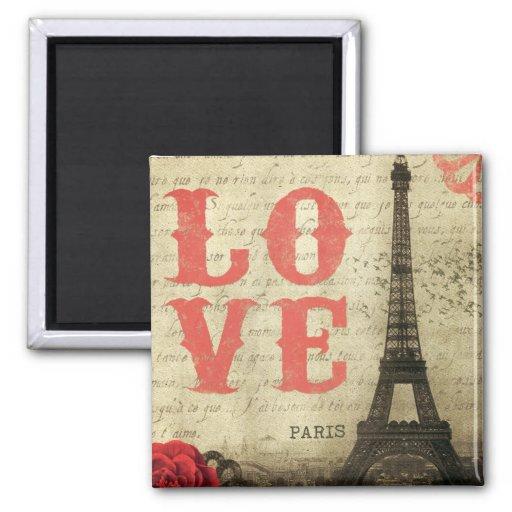 Paris vintage aimants