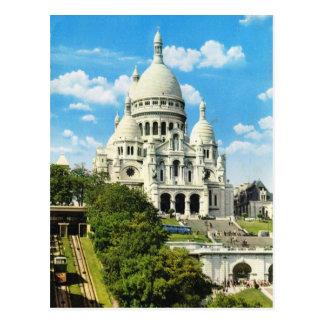 Paris vintage, Paris Sacre Coeur, Montmatre Cartes Postales