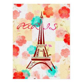 Paris vintage - Tour Eiffel Carte Postale