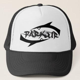 Parkour abstrait casquette