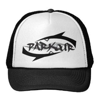 Parkour abstrait casquettes de camionneur