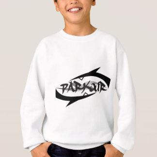 Parkour abstrait sweatshirt